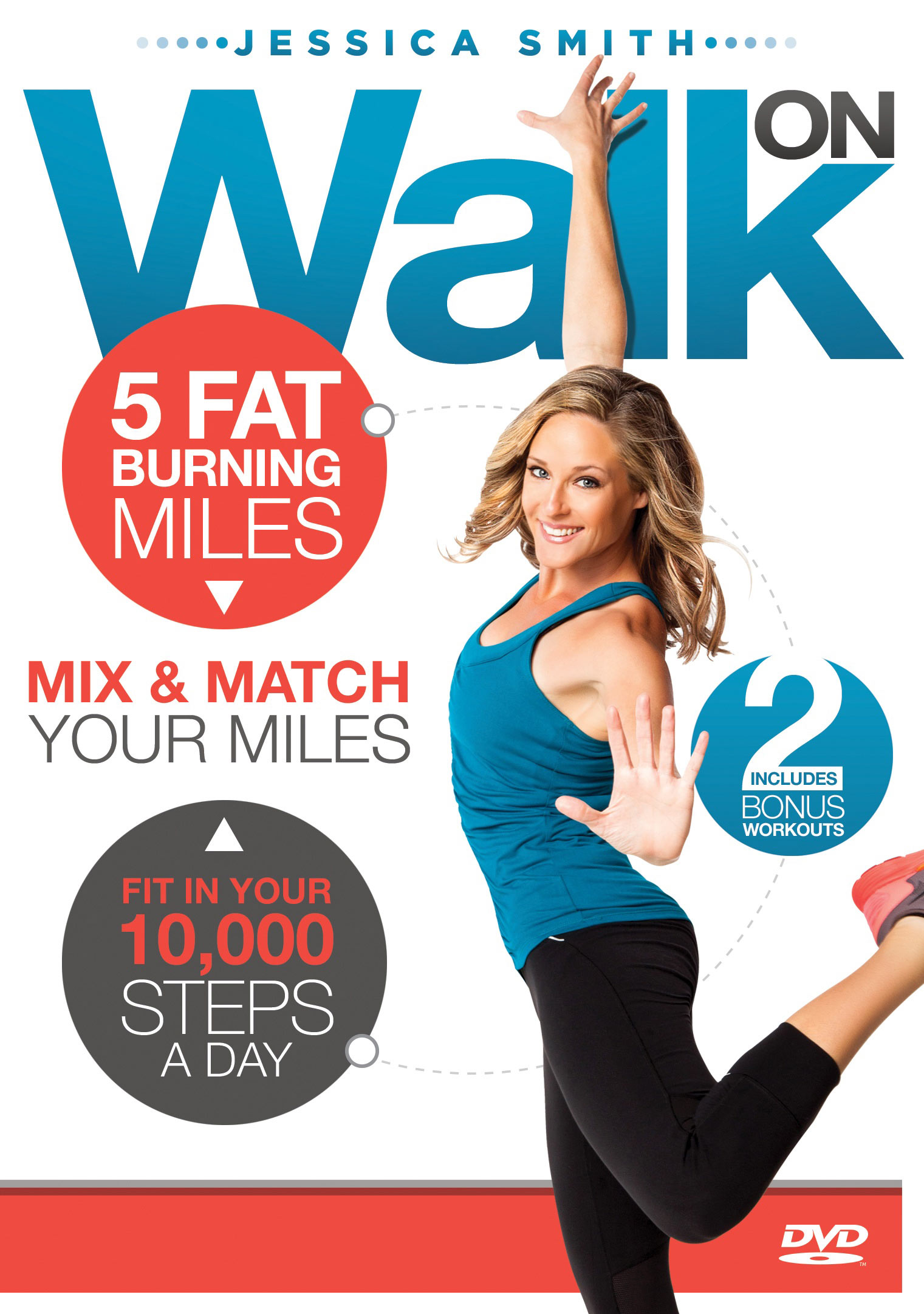 Walk On: 5 Fat Burning Miles