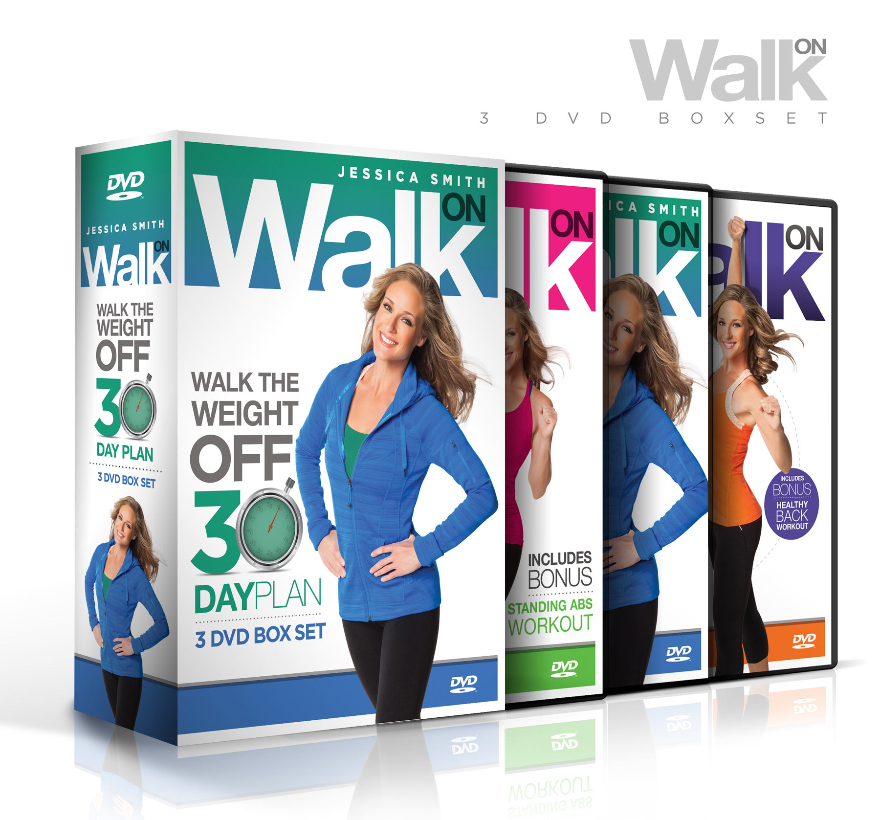 Jessica Smith Walk On: Walk The Weight Off 30 Day Plan