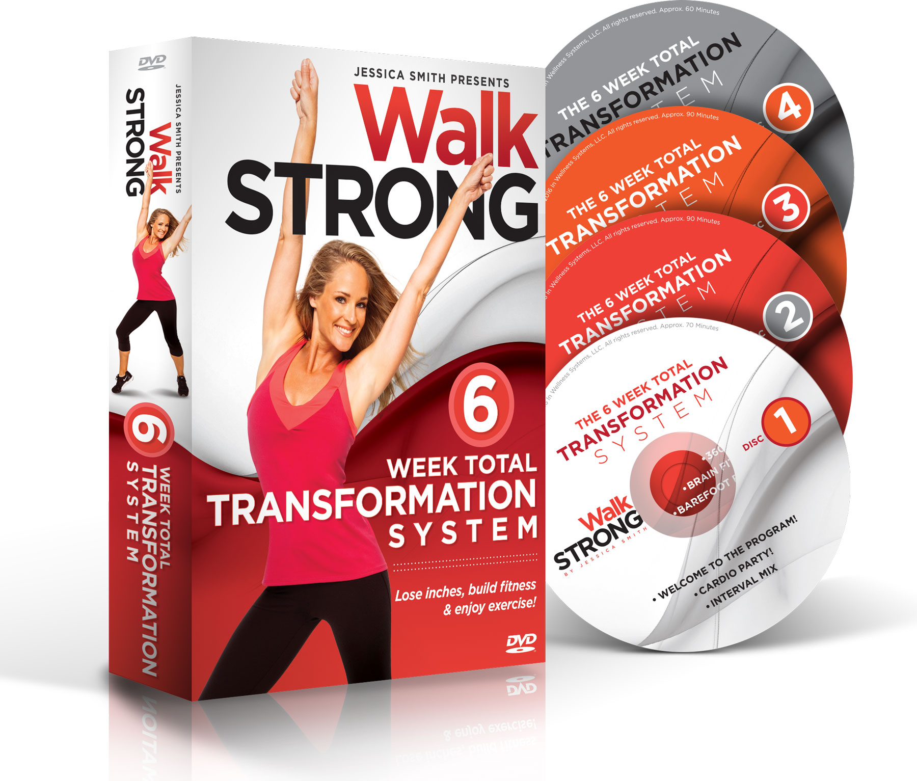 Jessica Smith's Walk Strong DVD